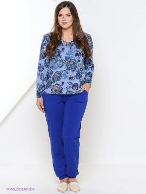 Пижама PELICAN. Цвет: синий