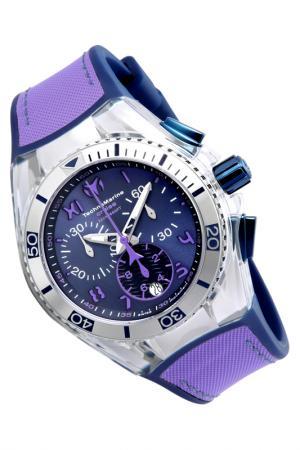 Watch TechnoMarine. Цвет: silver, blue, purple