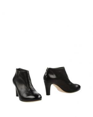 Ботинки EL. Цвет: черный