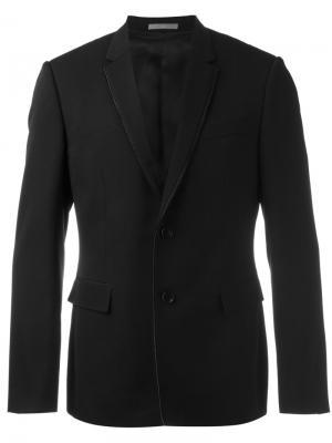 Классический пиджак Dior Homme. Цвет: чёрный