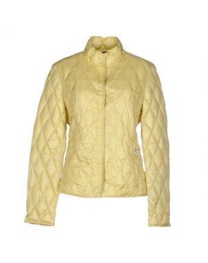 Куртка BPD BE PROUD OF THIS DRESS. Цвет: светло-желтый