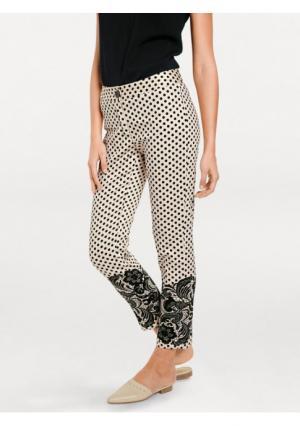 Моделирующие брюки ASHLEY BROOKE by Heine. Цвет: серый/черный