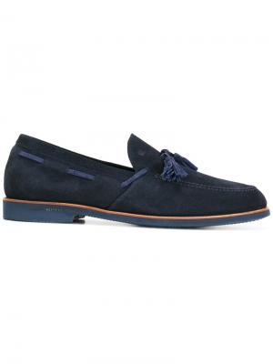 Tassel detail loafers Fratelli Rossetti. Цвет: синий