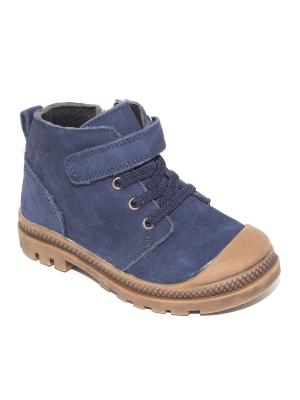 Ботинки Капитошка.. Цвет: темно-синий