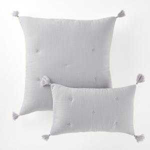 Чехол на подушку или наволочка, KUMLA La Redoute Interieurs. Цвет: серо-зеленый
