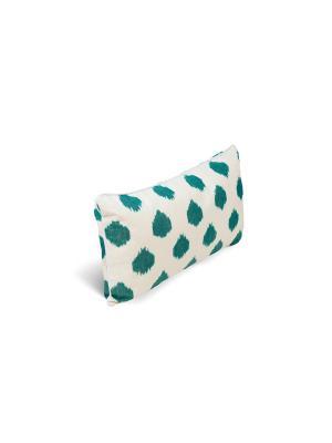 Чехол на подушку декоративный Ikat Long 35*60см RAWEDGE. Цвет: зеленый