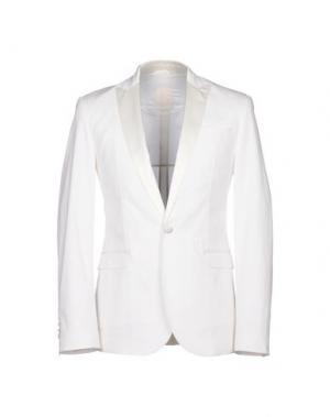 Пиджак BIKKEMBERGS. Цвет: белый