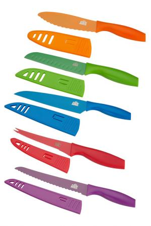 Набор цветных ножей 5 пр. STAHLBERG. Цвет: мультицвет