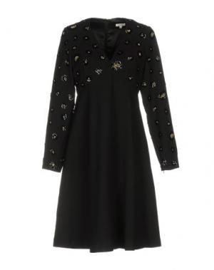 Короткое платье MANOUSH. Цвет: черный