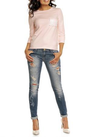 Блуза NOMMO. Цвет: розовый