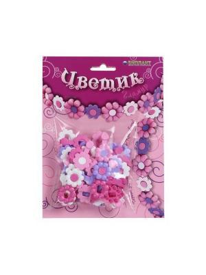 Набор для детского творчества  Цветик Гламур БИПЛАНТ.. Цвет: розовый