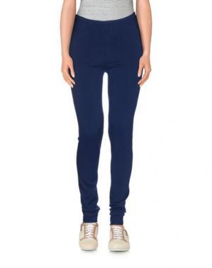 Повседневные брюки MIA WISH. Цвет: темно-синий