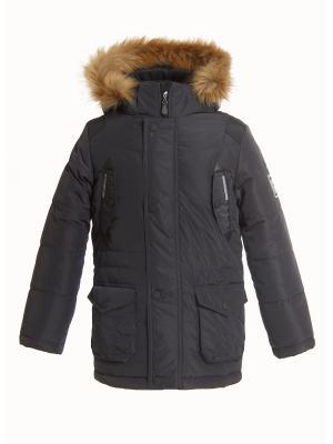Куртка для мальчика AVESE. Цвет: темно-серый