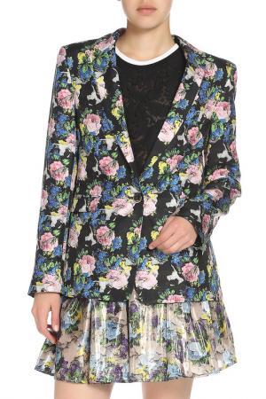 Пиджак MSGM. Цвет: цветочный, принт