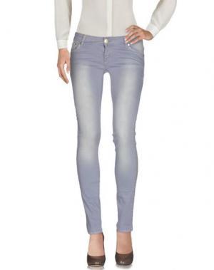 Повседневные брюки HANNY DEEP. Цвет: сиреневый