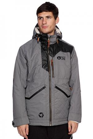 Куртка  Wood Grey Picture Organic. Цвет: серый