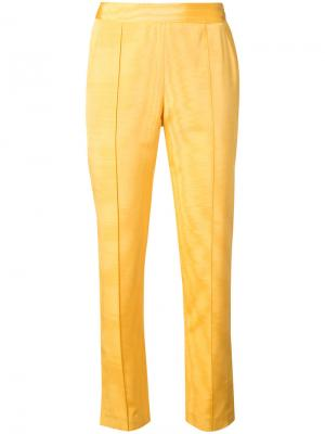 Брюки Oboe Rosie Assoulin. Цвет: жёлтый и оранжевый