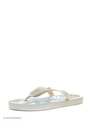 Пляжная обувь детская Mon Ami. Цвет: белый