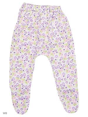Ползунки кулирка Агат. Цвет: фиолетовый, белый