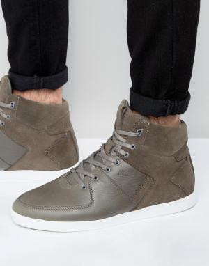 Boxfresh Высокие кроссовки Camberwell. Цвет: серый