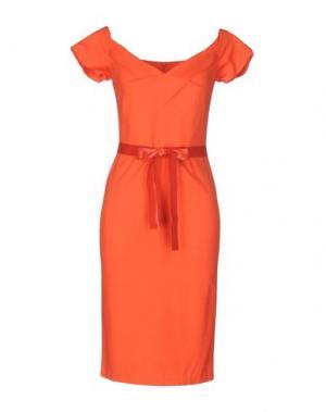 Платье до колена HANITA. Цвет: красный