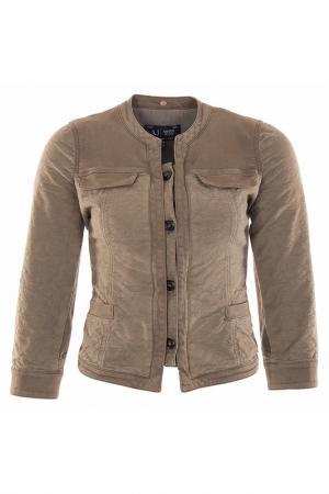 Пиджак Armani Jeans. Цвет: зеленый