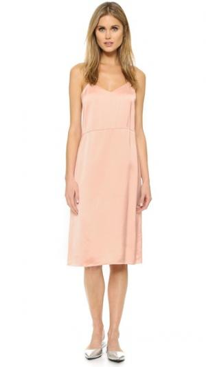 Платье-комбинация Lika Jill Stuart. Цвет: ярко-розовый