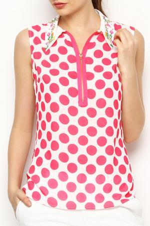 Блуза Ludomara fashion. Цвет: розовый