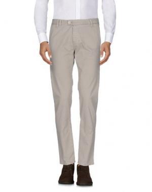 Повседневные брюки OFFICINA 36. Цвет: бежевый