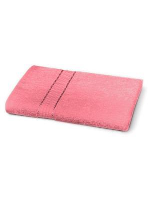 Полотенце 50х90 Любимый Дом. Цвет: розовый