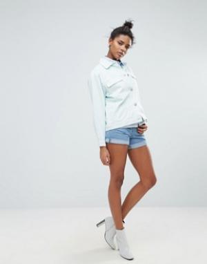 Waven Джинсовые шорты в винтажном стиле Inga. Цвет: синий