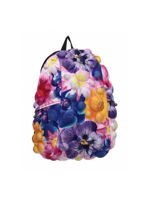 Рюкзак MadPax. Цвет: желтый, синий, фиолетовый