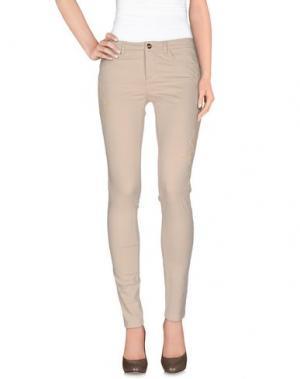Повседневные брюки RIVER WOODS. Цвет: бежевый