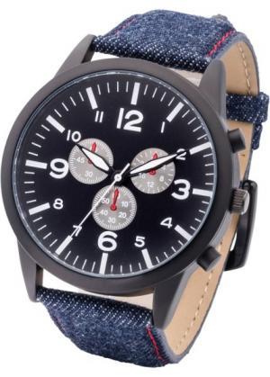 Мужские металлические часы (серебристый) bonprix. Цвет: серебристый