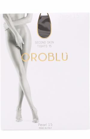 Капроновые колготки Oroblu. Цвет: серый