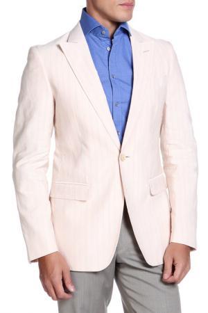 Пиджак Moschino. Цвет: бледно-розовый, бледно-голубой