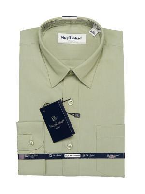 Рубашка Sky Lake. Цвет: оливковый