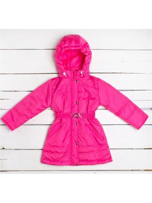 Пальто Arctic Kids. Цвет: розовый