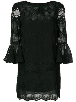 Платье Pythia Jovonna. Цвет: чёрный