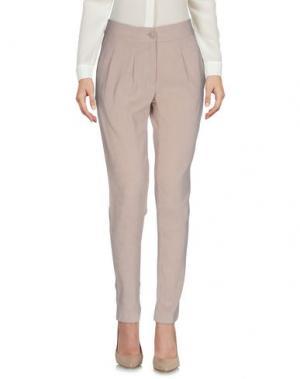 Повседневные брюки INTROPIA. Цвет: бежевый