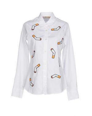 Pубашка LIBERTINE. Цвет: белый