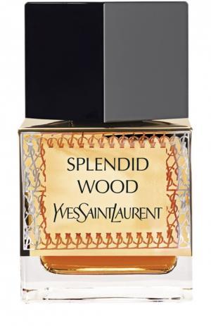 Парфюмерная вода Splendid Wood YSL. Цвет: бесцветный