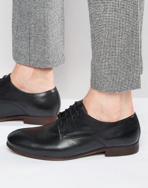 Hudson London Кожаные туфли дерби Champlain. Цвет: черный