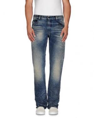 Джинсовые брюки CELLAR DOOR. Цвет: синий