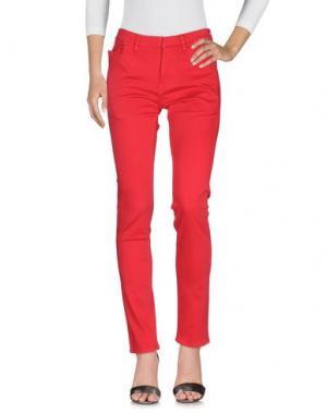 Джинсовые брюки TSUMORI CHISATO. Цвет: красный