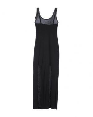 Длинное платье NUMERO 00. Цвет: черный