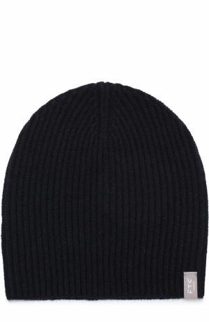 Кашемировая шапка FTC. Цвет: темно-синий