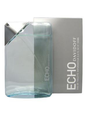 Echo man edt 100 ml DAVIDOFF. Цвет: светло-голубой