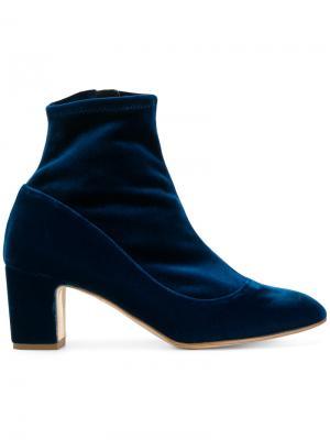 Ботинки по щиколотку Rupert Sanderson. Цвет: синий