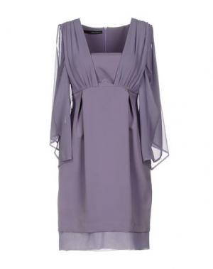 Короткое платье ANNARITA N.. Цвет: сиреневый